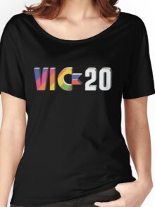 Vic 20 Logo 80s Computer T-shirt for Adults