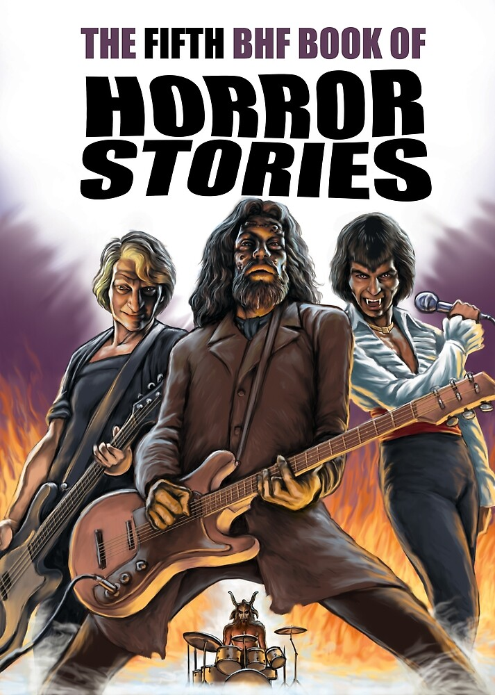 The Fifth BHF Book of Horror Stories - with text by Paul Mudie