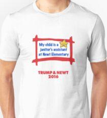 Proud Parent USA. Trump & Newt 2016 T-Shirt