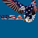 USA Eagle 2 by BluAlien