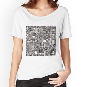 Chemical Elements Baggyfit T-Shirt