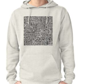 Chemical Elements Hoodie