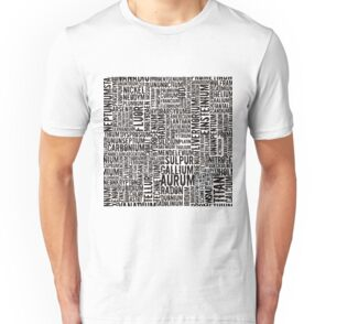 Chemical Elements T-Shirt Unisex