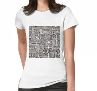 Chemical Elements Frauen-T-Shirt