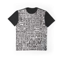 Chemical Elements Grafik T-Shirt