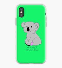"""""""Always Huggable"""" Koala iPhone Case"""