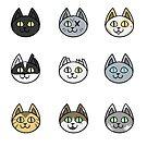 Kitties by N E T H A R T I C