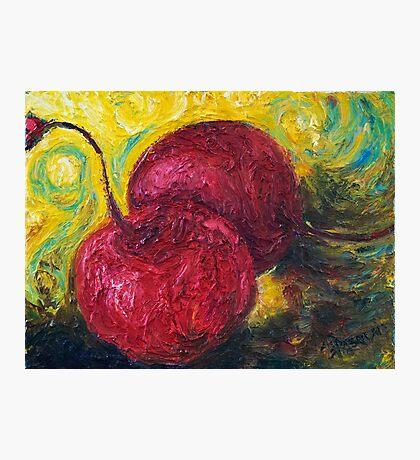 Maraschino Cherries Photographic Print