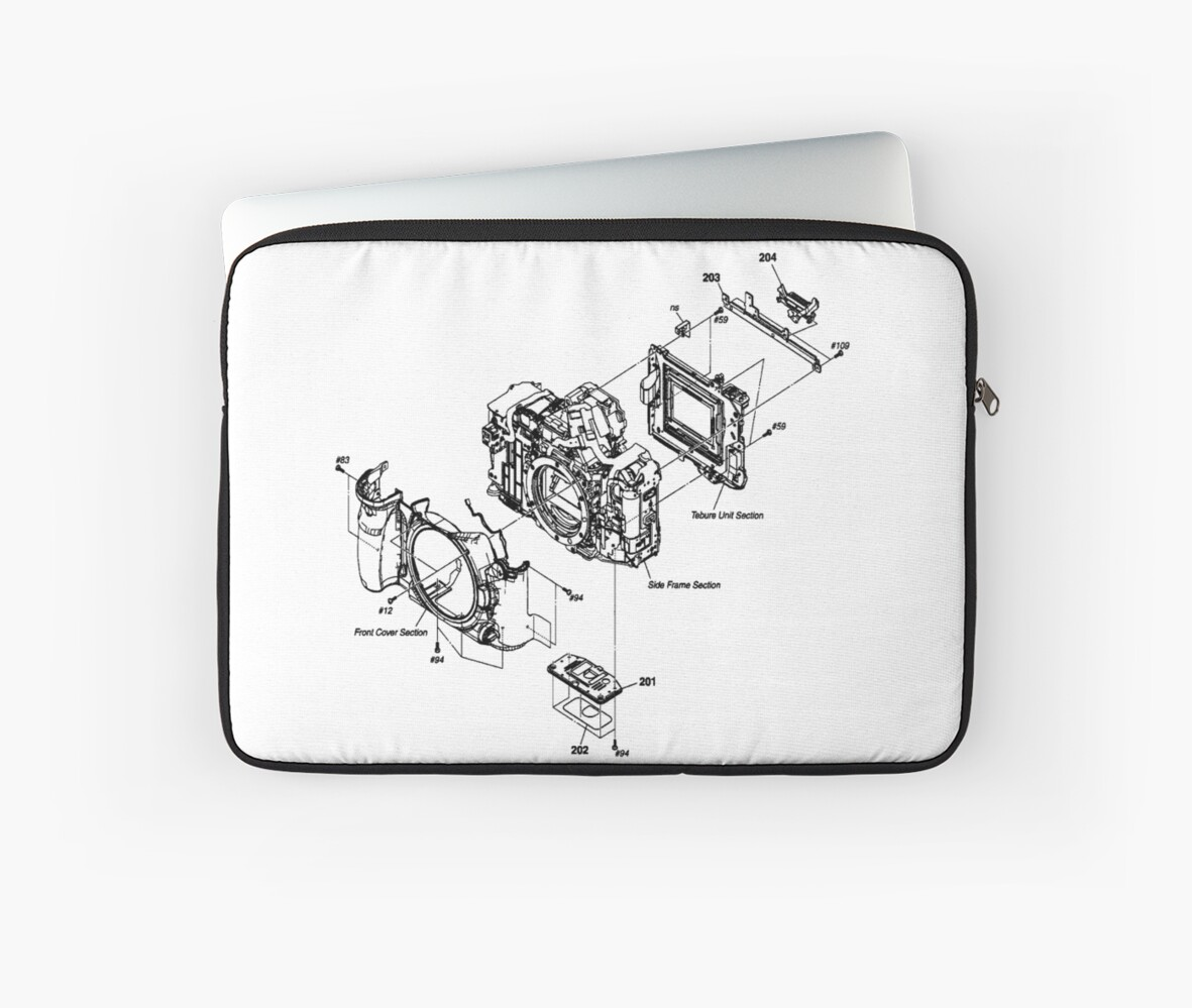camera 39 sony alpha 900 39 diagram laptop sleeves by. Black Bedroom Furniture Sets. Home Design Ideas