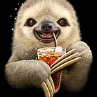 SLOTH & SOFT DRINK by MEDIACORPSE