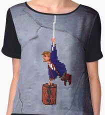 Monkey Island II Women's Chiffon Top