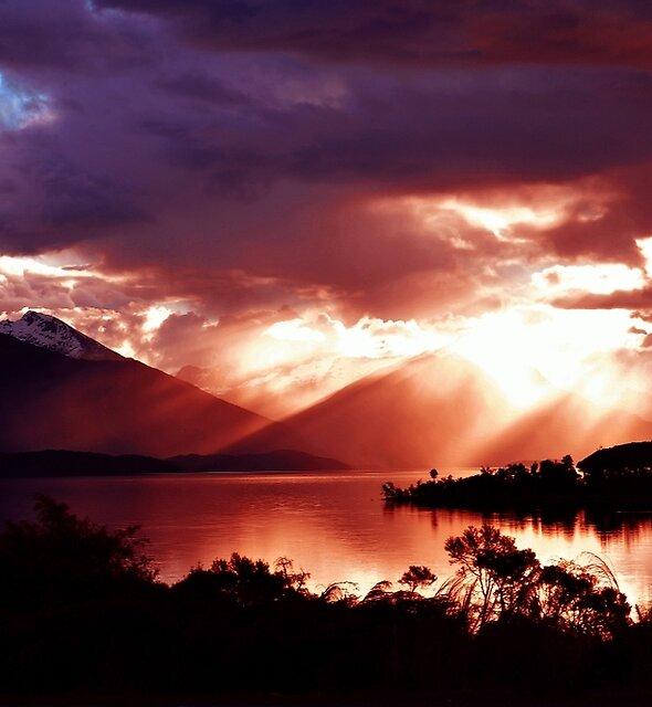 See Te Anau. Südinsel, Neuseeland. (2) von Ralph de Zilva