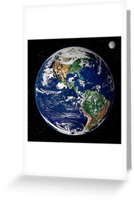 Earth from Space by Alondra