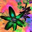 Watercolor Flower numero tres (sideways) by eltdesigns
