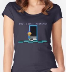 DHMIS - Nothing Don't Hug Me I'm Scared 4 Women's Fitted Scoop T-Shirt