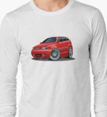 Cartoon Car Long Sleeve T-Shirt