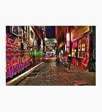 Graffiti in Hosier Lane Melbourne Photographic Print