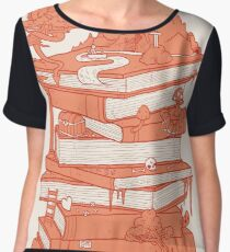 Magic of books Chiffon Top