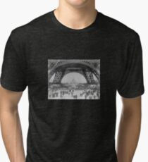 Eiffel Tower - World's Fair 1889  Tri-blend T-Shirt