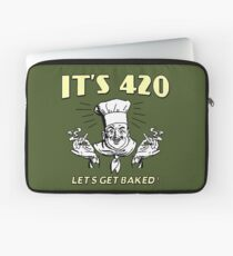 It's 420. Let's get baked! Laptop Sleeve