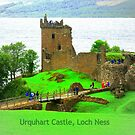 Urquhart Castle Loch Ness by ©The Creative  Minds