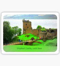 Urquhart Castle Loch Ness Sticker