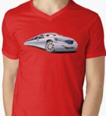Cartoon Limo Mens V-Neck T-Shirt