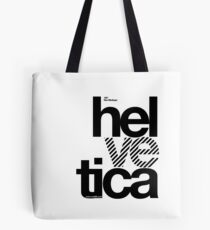 Hel ve tica (b) .... Tote Bag