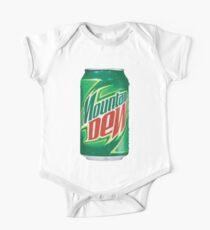 Body de manga corta para bebé Mountain Dew puede