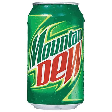 Mountain Dew can by sliderman