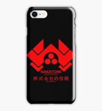 NAKATOMI PLAZA - DIE HARD BRUCE WILLIS (RED) iPhone Case/Skin