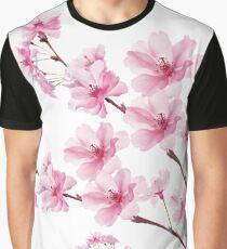 Sakura Cherry Blossom Graphic T-Shirt