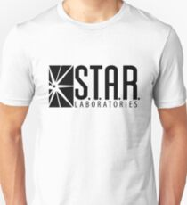 S.T.A.R. Laboratories | Black [HD] Unisex T-Shirt