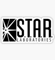 S.T.A.R. Laboratories | Black [HD] Sticker
