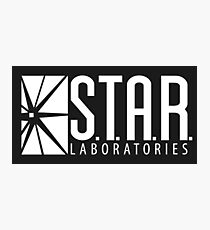 S.T.A.R Laboratories | White [HD] Photographic Print