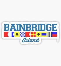Bainbridge Island. Sticker