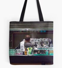 One Hot Espresso Coming Up! Tote Bag
