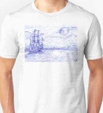 Piratenschiff Unisex T-Shirt