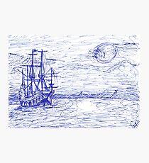 Piratenschiff Photographic Print
