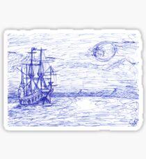 Piratenschiff Sticker