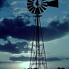 Windmill at Dusk by Grinch/R. Pross