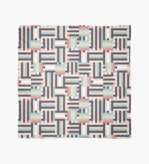 Digital pastel stripes Scarf