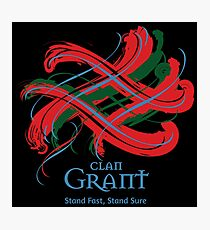 Clan Grant  Photographic Print