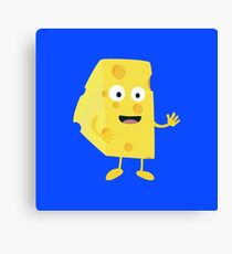 Cheese guy   Canvas Print