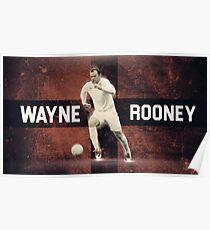 Wayne Rooney Euro 2016  Poster