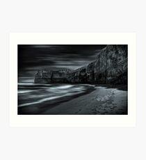 Echoes of night. Art Print