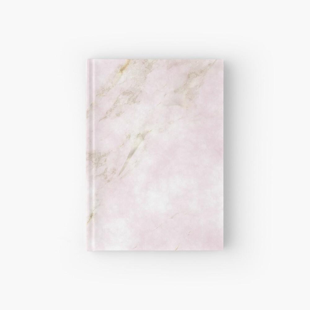 Rose Gold Marble Cuaderno de tapa dura