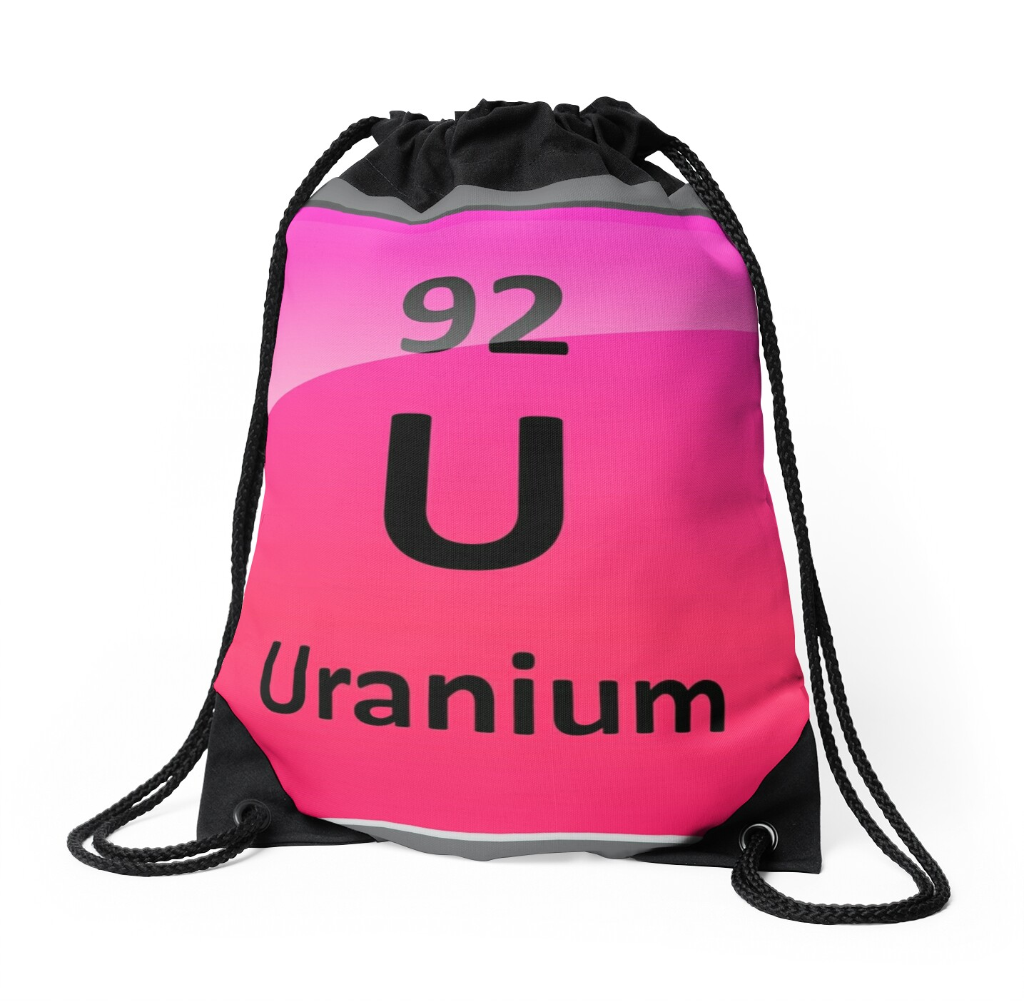 Uranium element symbol periodic table drawstring bags by uranium element symbol periodic table by sciencenotes gamestrikefo Choice Image