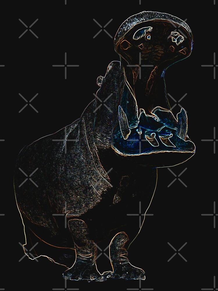 Nilpferd von hottehue