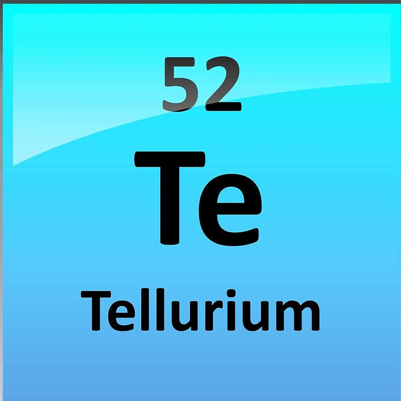 Tellurium element symbol periodic table drawstring bags by tellurium element symbol periodic table urtaz Gallery